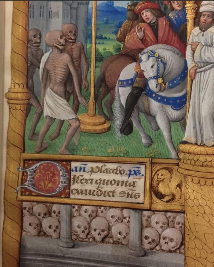 The 22-skull entry. Free Library of Philadelphia Lewis E 86 113r