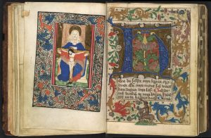 Free Library of Philadelphia Lewis MS E 257, Book of Hours.