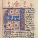 Free Library of Philadelphia Lewis MS E 257, decorated initial.