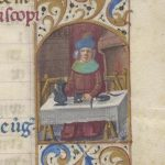 Free Library of Philadelphia Lewis E 212, Book of Hours, Use of Rome, fol. 3r