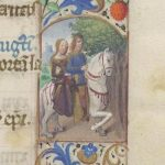 Free Library of Philadelphia Lewis E 212, Book of Hours, Use of Rome, fol. 6r