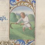 Free Library of Philadelphia Lewis E 212, Book of Hours, Use of Rome, fol. 7r