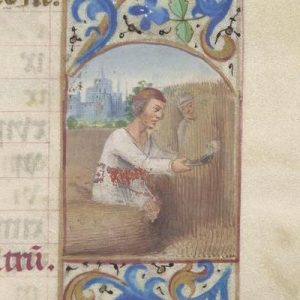 Free Library of Philadelphia Lewis E 212, Book of Hours, Use of Rome, fol. 8r