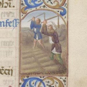 Free Library of Philadelphia Lewis E 212, Book of Hours, Use of Rome, fol. 9r