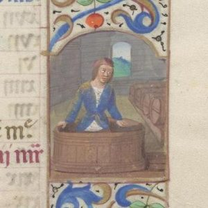 Free Library of Philadelphia Lewis E 212, Book of Hours, Use of Rome, fol. 10r