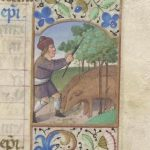 Free Library of Philadelphia Lewis E 212, Book of Hours, Use of Rome, fol. 12r