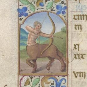 Free Library of Philadelphia Lewis E 212, Book of Hours, Use of Rome, fol. 12v
