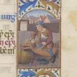 Free Library of Philadelphia Lewis E 212, Book of Hours, Use of Rome, fol. 13r