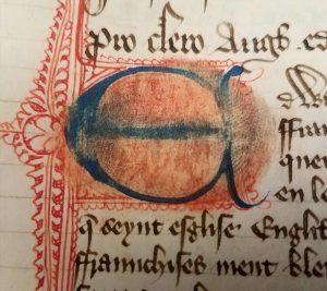 Fingerprint, Free Library of Philadelphia, LC 14 10, f. 6.