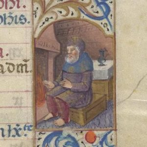 Free Library of Philadelphia Lewis E 212, Book of Hours, Use of Rome, fol. 2r