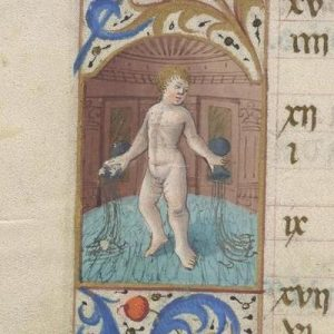 Free Library of Philadelphia Lewis E 212, Book of Hours, Use of Rome, fol. 2v