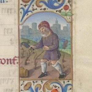 Free Library of Philadelphia Lewis E 212, Book of Hours, Use of Rome, fol. 4r