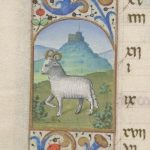 Free Library of Philadelphia Lewis E 212, Book of Hours, Use of Rome, fol. 4v