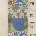 Free Library of Philadelphia Lewis E 212, Book of Hours, Use of Rome, fol. 6v