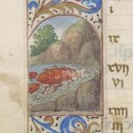 Free Library of Philadelphia Lewis E 212, Book of Hours, Use of Rome, fol. 7v