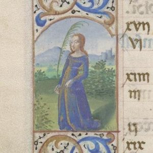Free Library of Philadelphia Lewis E 212, Book of Hours, Use of Rome, fol. 9v
