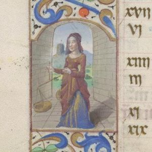 Free Library of Philadelphia Lewis E 212, Book of Hours, Use of Rome, fol. 10v