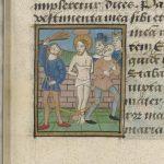 Fol. 25r: Flagellation