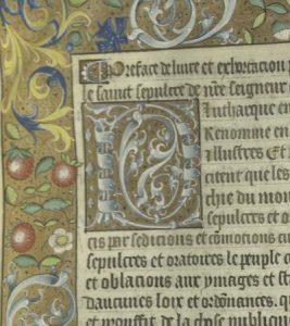 MS 13, fol. 1r (detail)